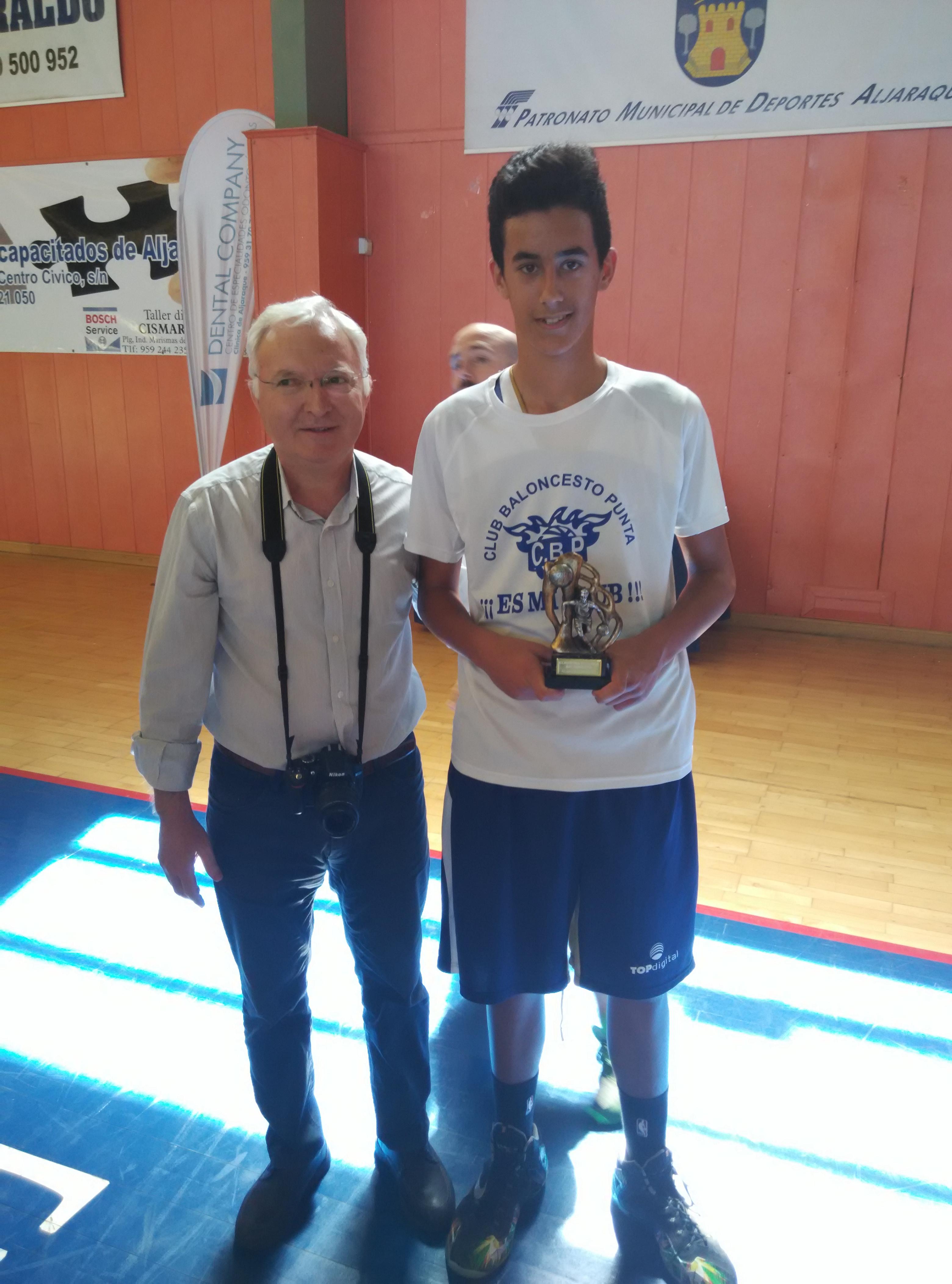 torneo cadete alajaraque. smd pu contra aljaraque 14-15